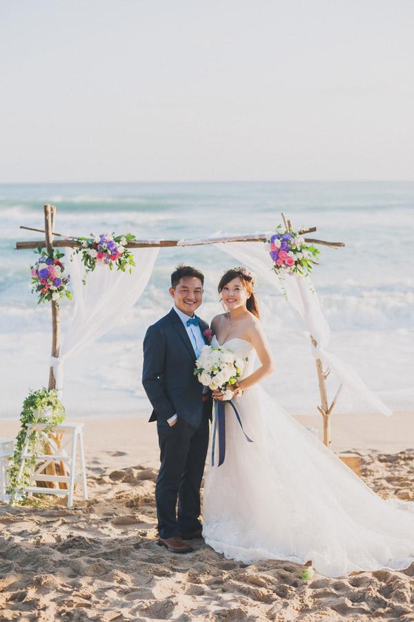 墾丁夏都海灘戶外婚禮