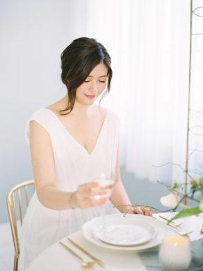 國際雜誌Magnolia Rouge 美式Fine Art婚紗創作