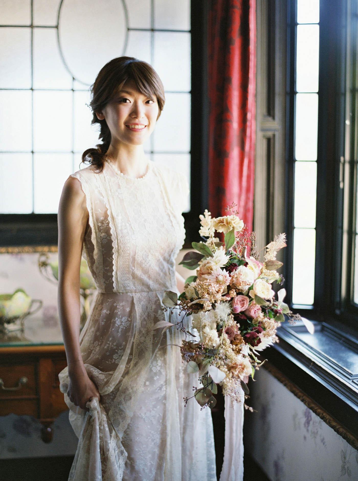 老英格蘭莊園美式婚紗
