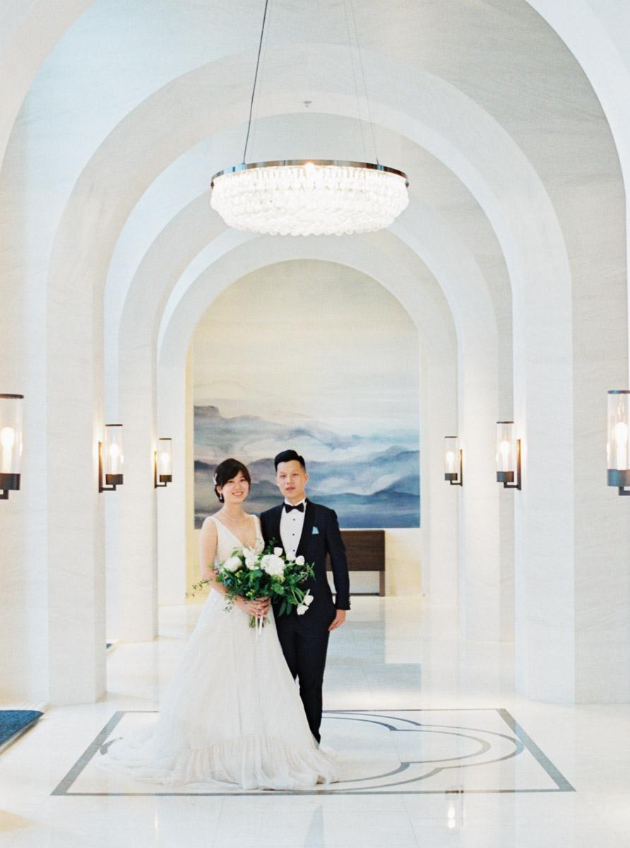 萬豪酒店美式婚禮