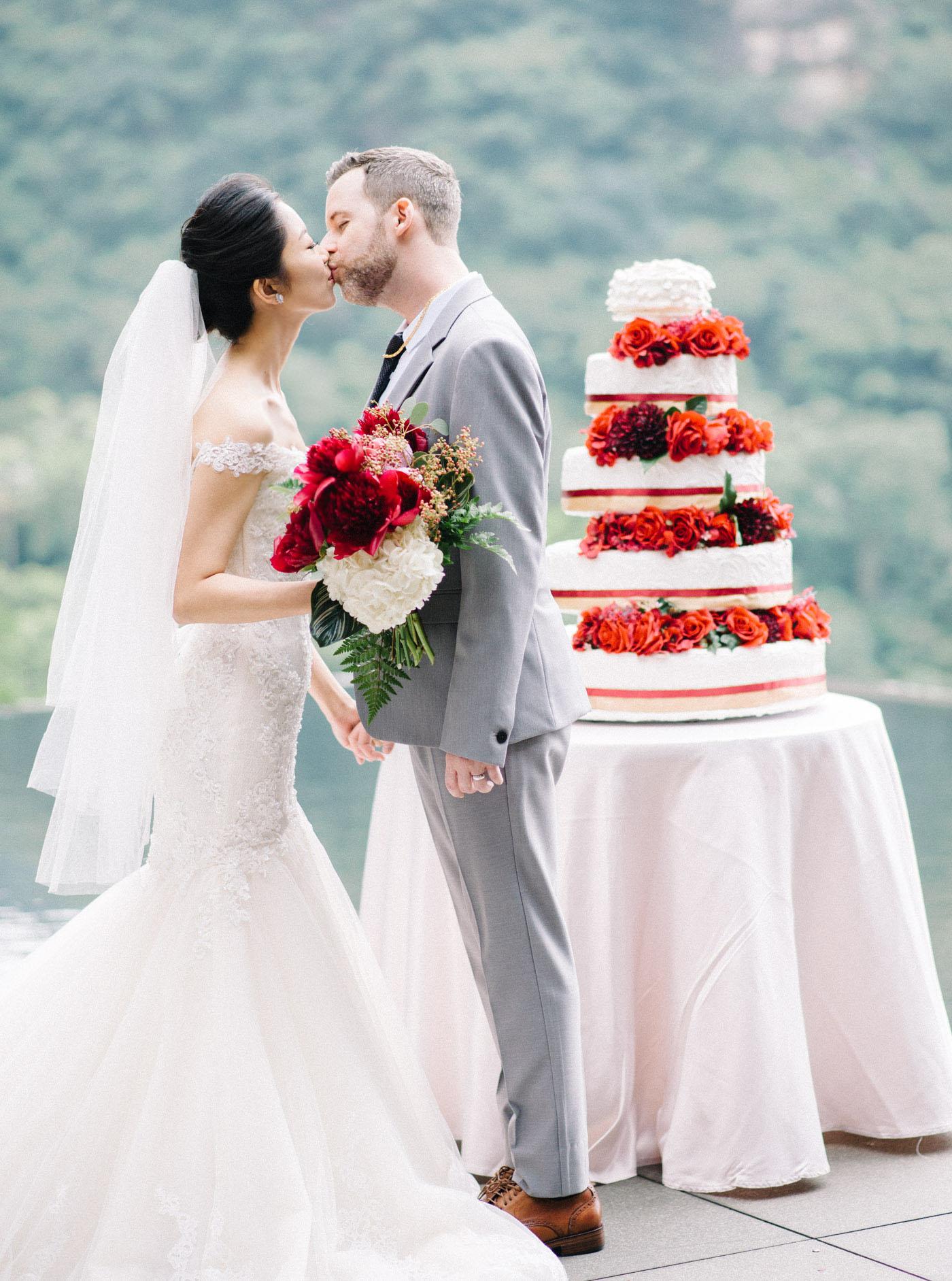 婚禮蛋糕-戶外婚禮北投麗禧