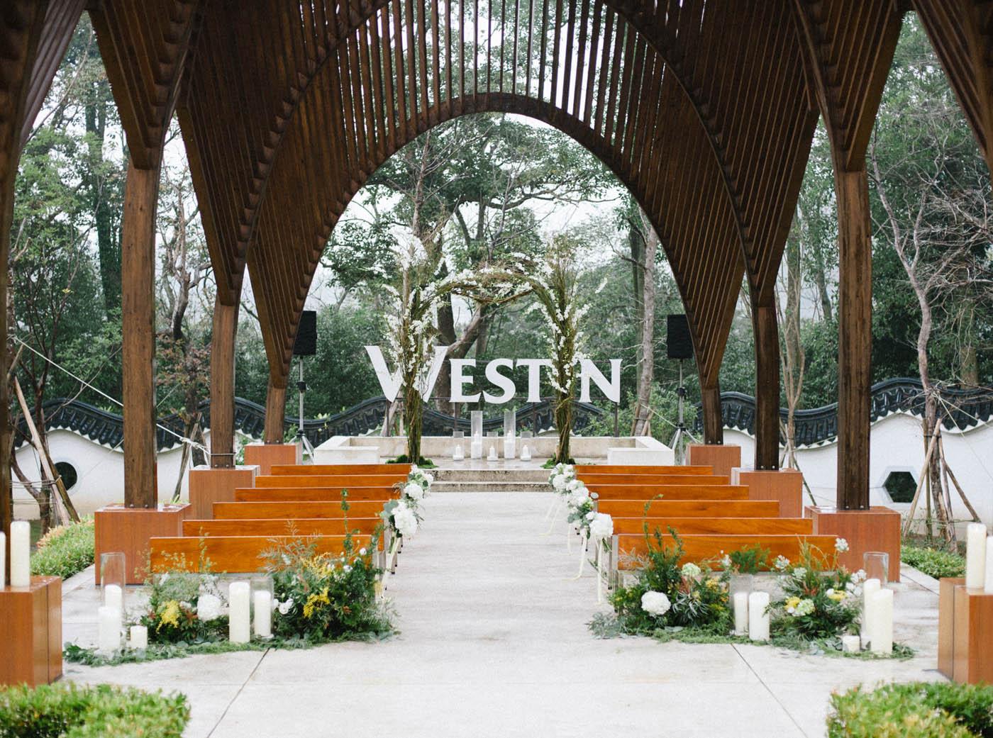 大溪westin婚禮佈置