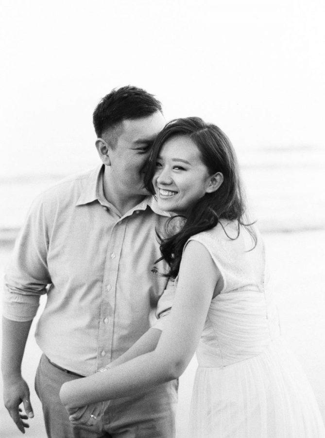 黑白攝影婚紗