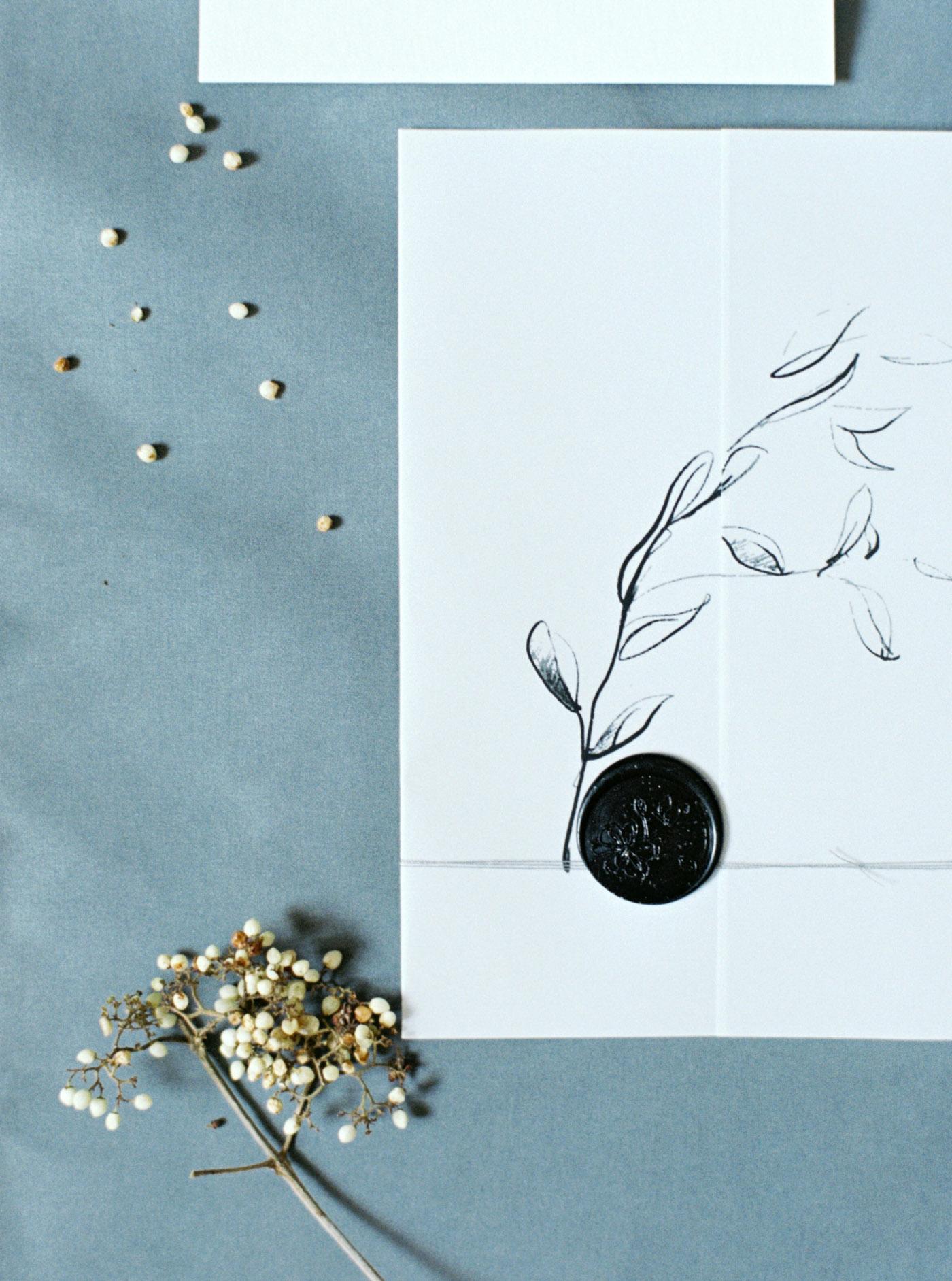 Tinge & Flourish Calligraphy