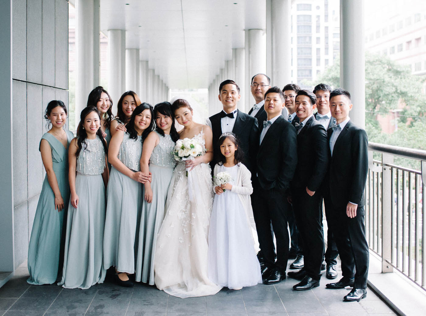 伴郎伴娘-婚禮照片