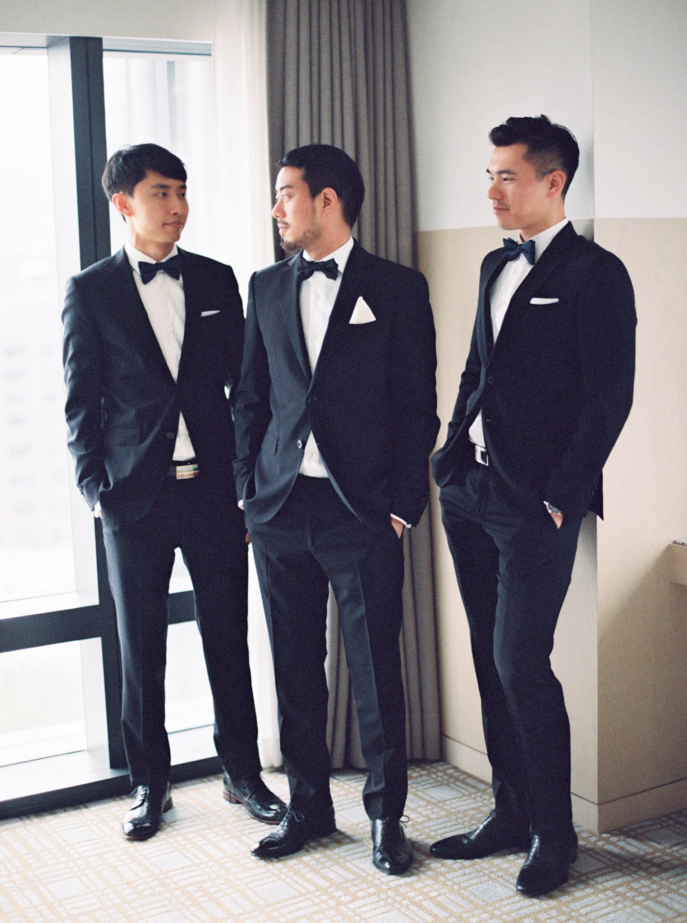 萬豪美式婚禮-伴郎-STAGE-Mark