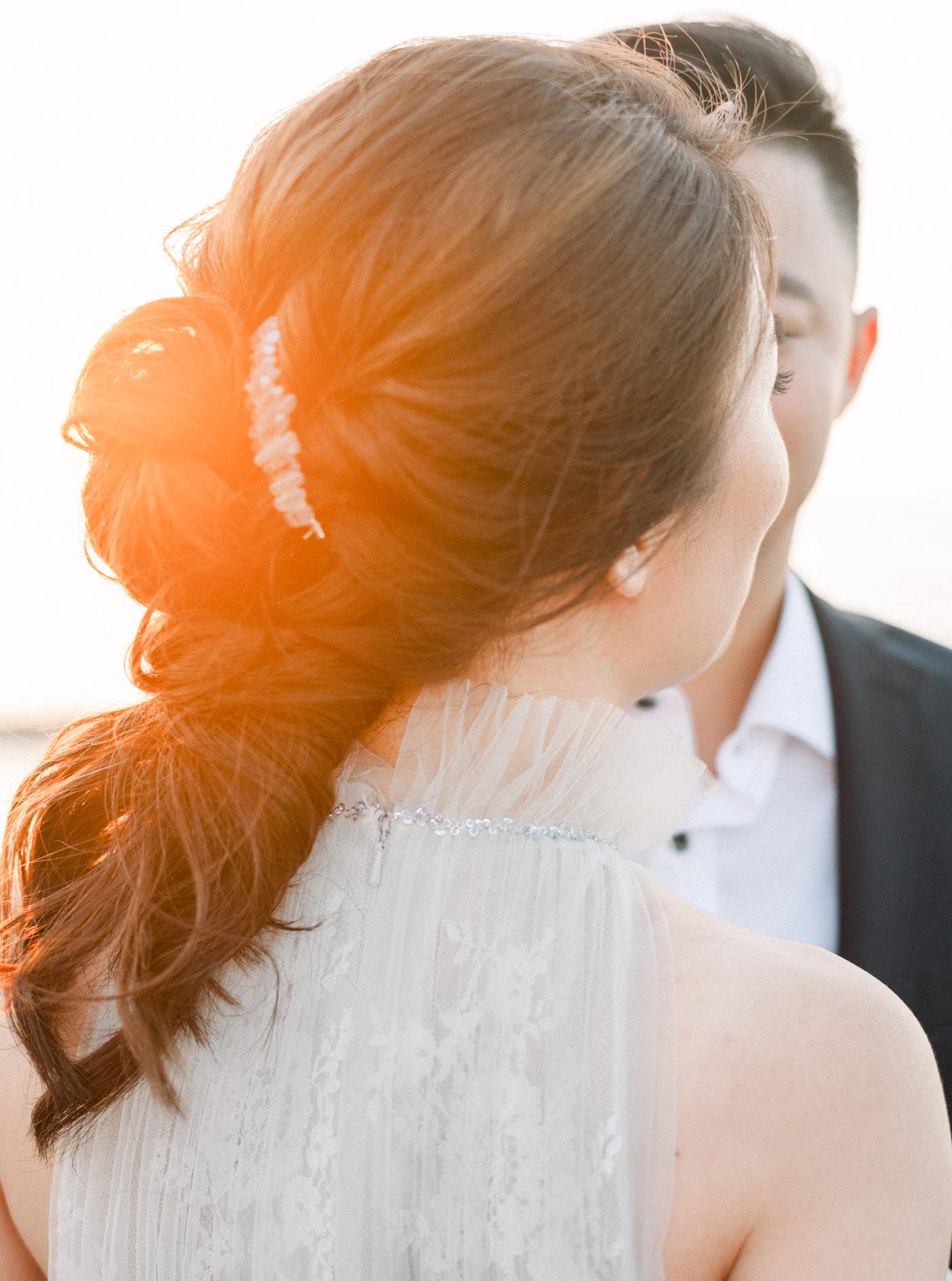 沙灘婚紗-STAGE-底片-Mark-夕陽-唯諾禮服-美式婚紗