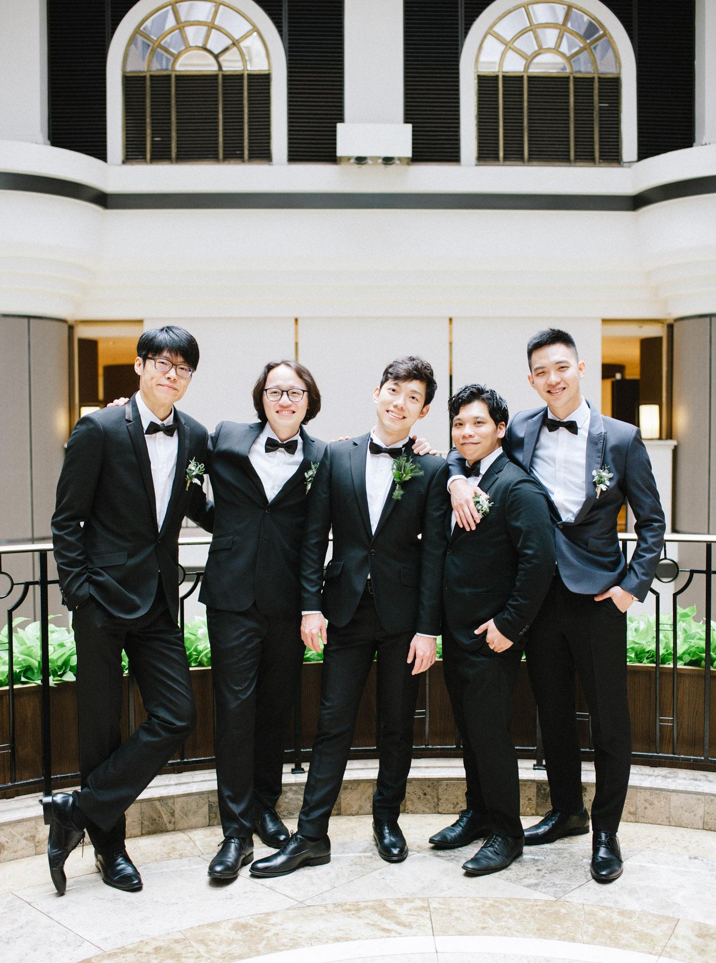 伴郎-君悅酒店凱寓婚禮-STAGE-Mark