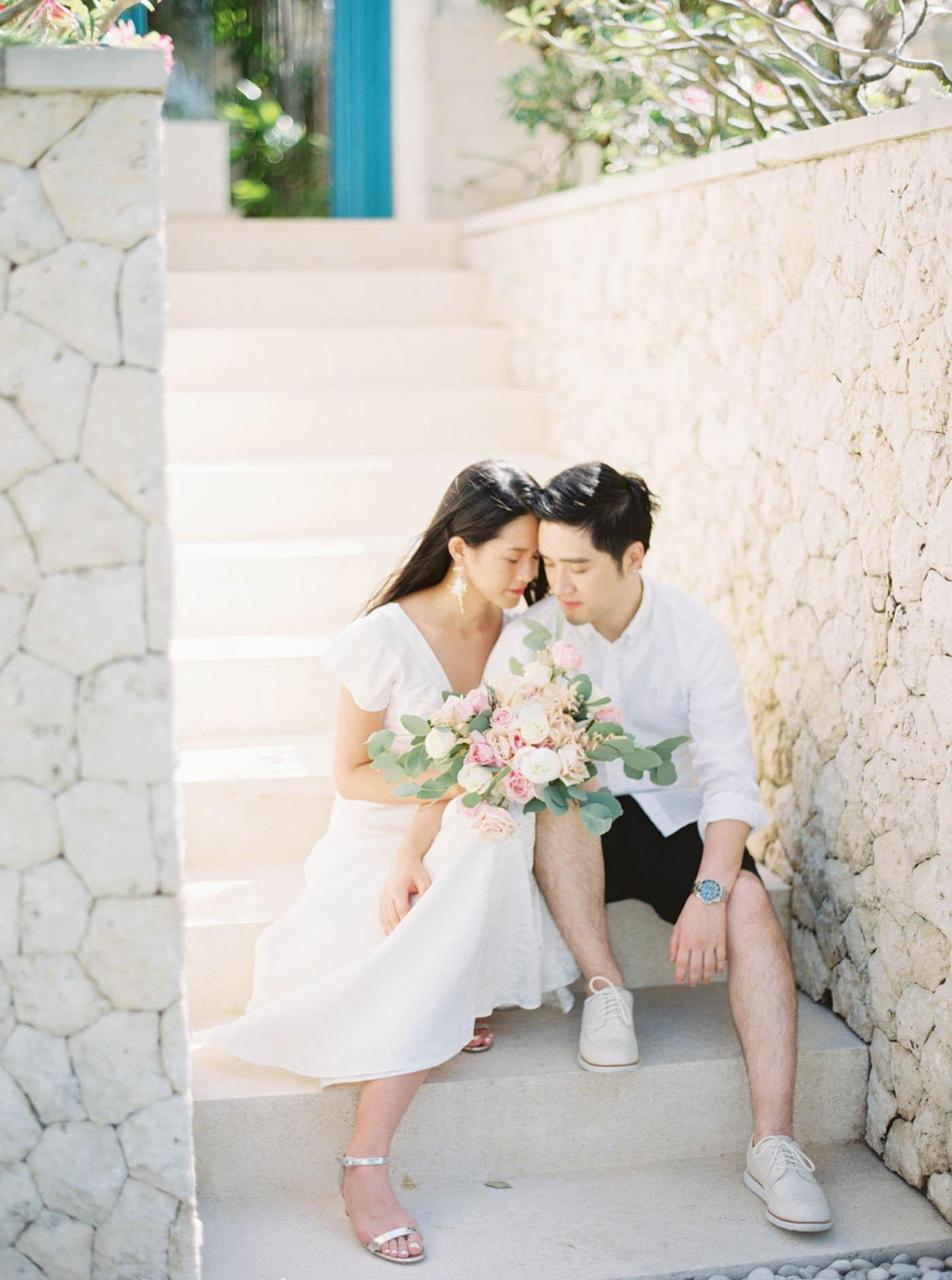 Bali 峇里島婚紗 fine art film wedding