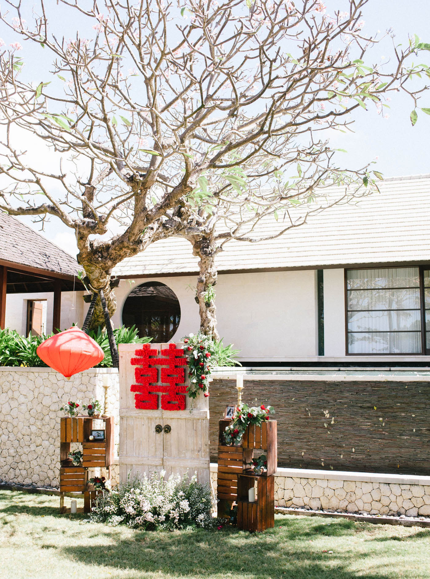 Royal Santrian Villa wedding 峇里島婚禮