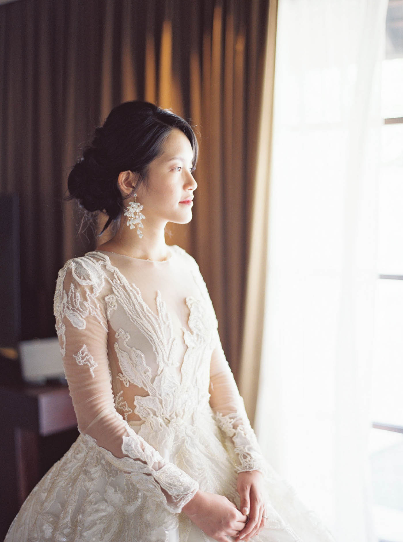 Royal Santrian Villa fine art wedding 峇里島婚禮