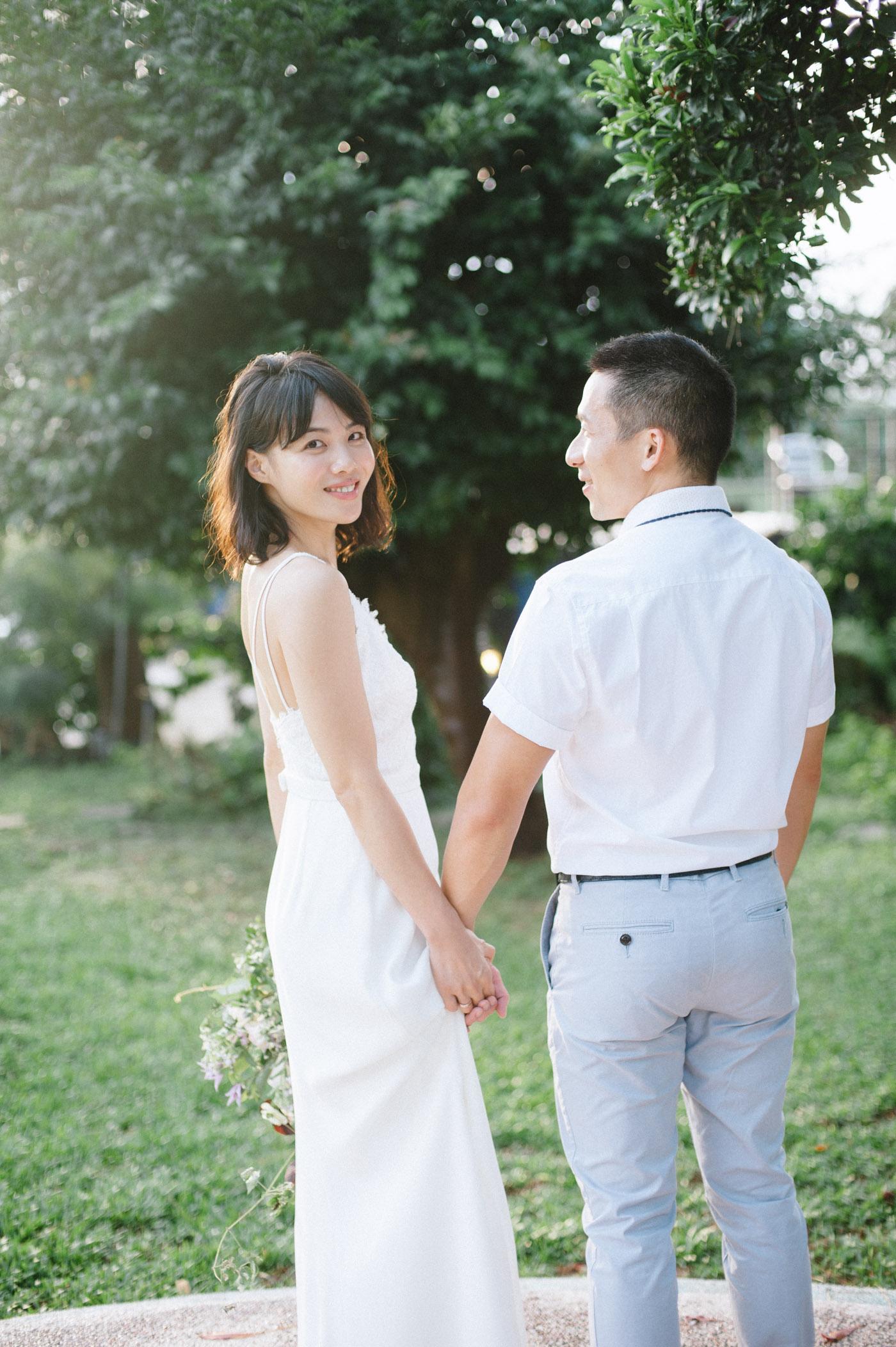 週年婚紗-唯諾禮服-家庭照