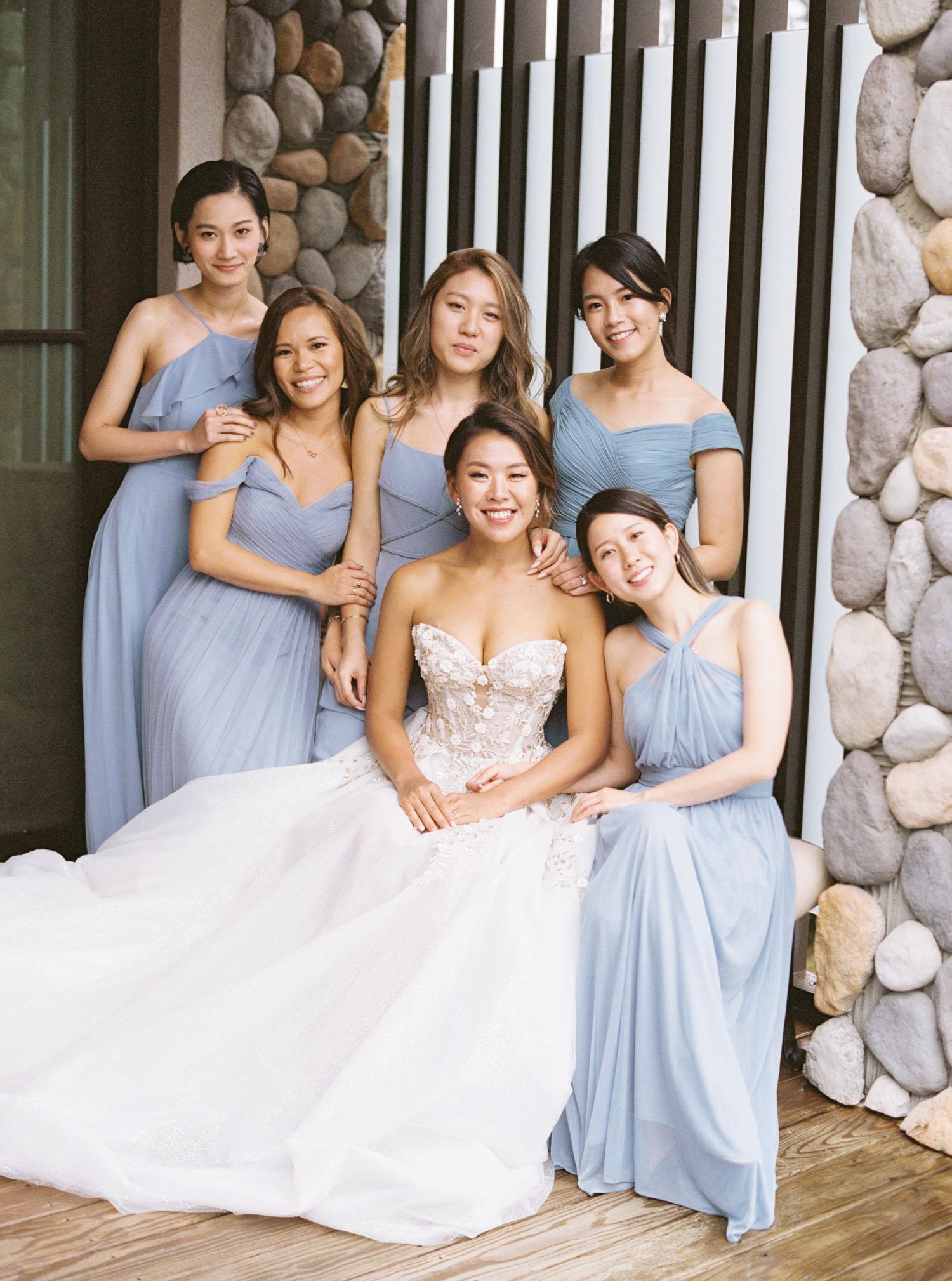 微光會館婚禮-伴娘-新娘