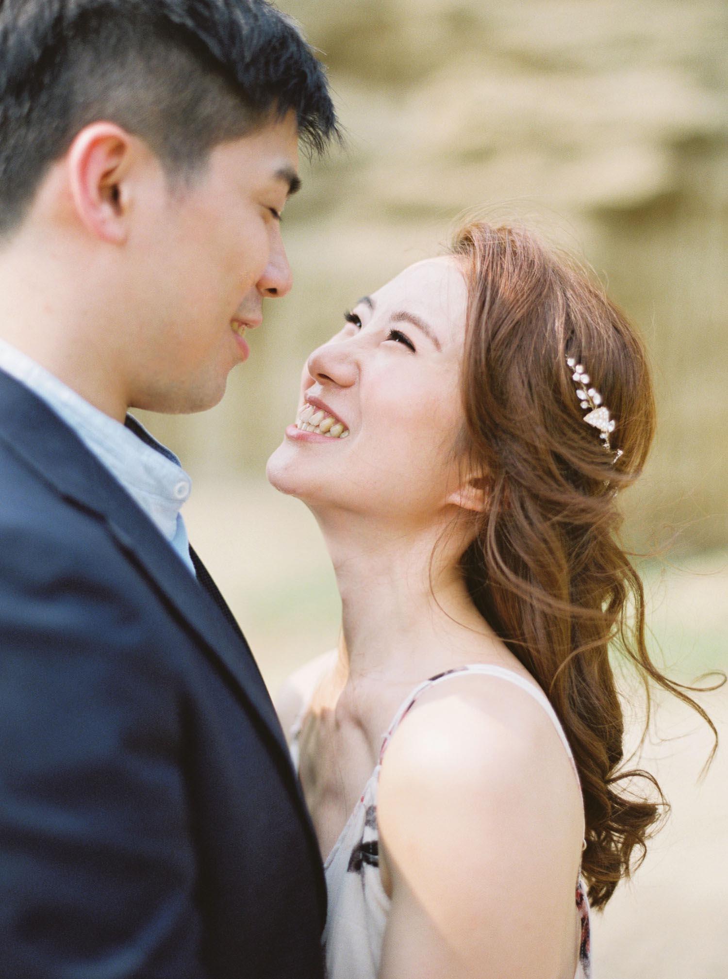 便服婚紗-Mark-情感-互動-底片-攝影