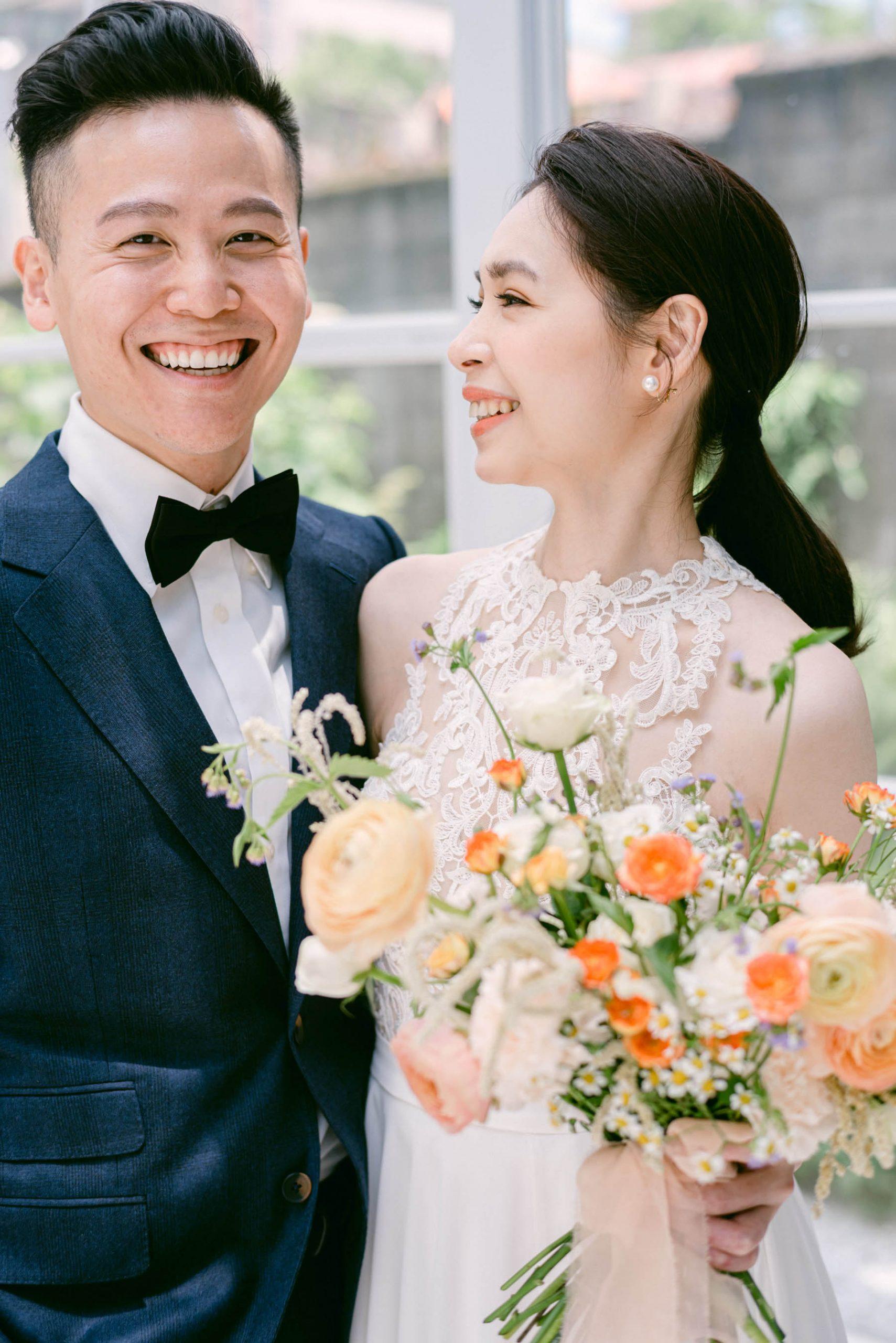 美式-婚紗-Fine-art-Mark-美式捧花-互動婚紗