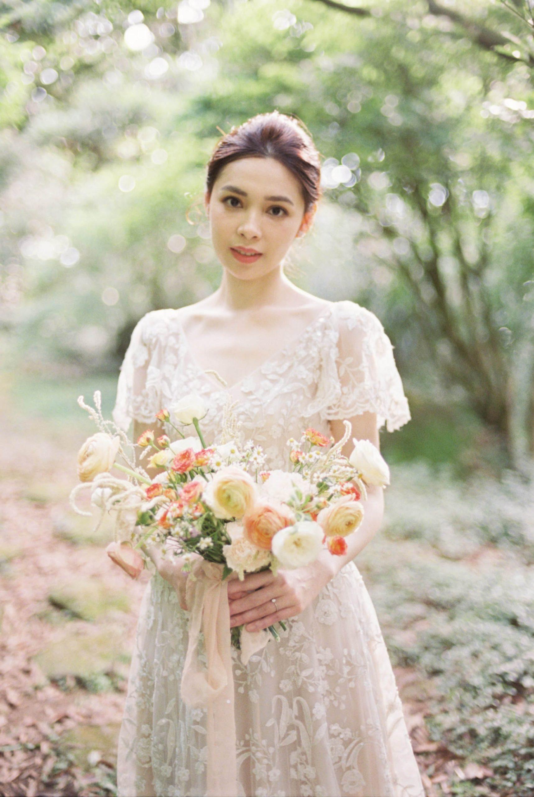 美式-婚紗-Fine-art-Mark-美式捧花-夢幻