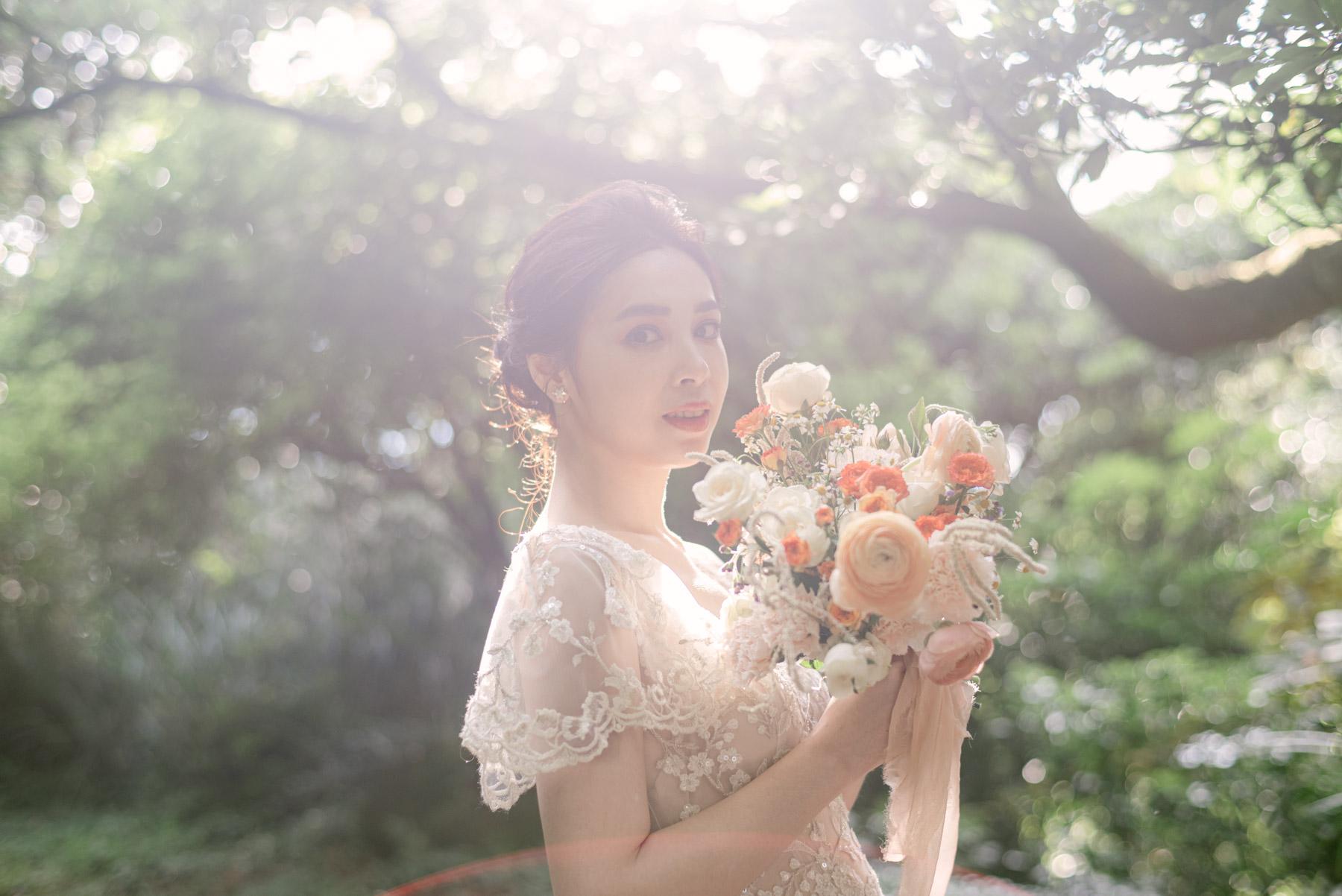 美式-婚紗-Fine-art-Mark-美式捧花-夢幻逆光
