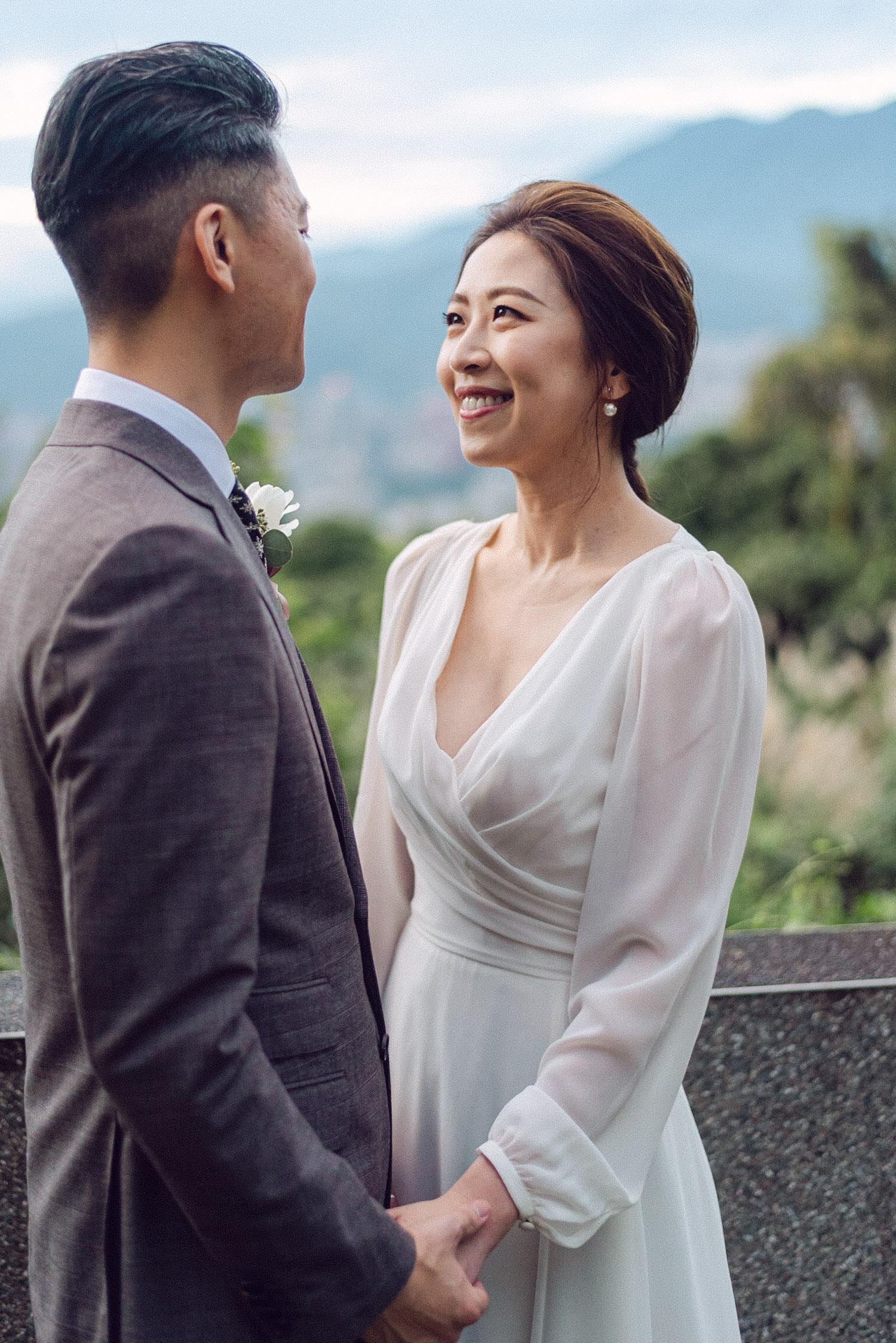 草山玉溪 婚禮 唯諾禮服婚紗 STAGE Mark Hong 李大幅婚禮電影