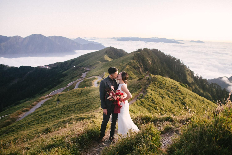 合歡山旅遊婚紗-旅遊婚紗-合歡主峰