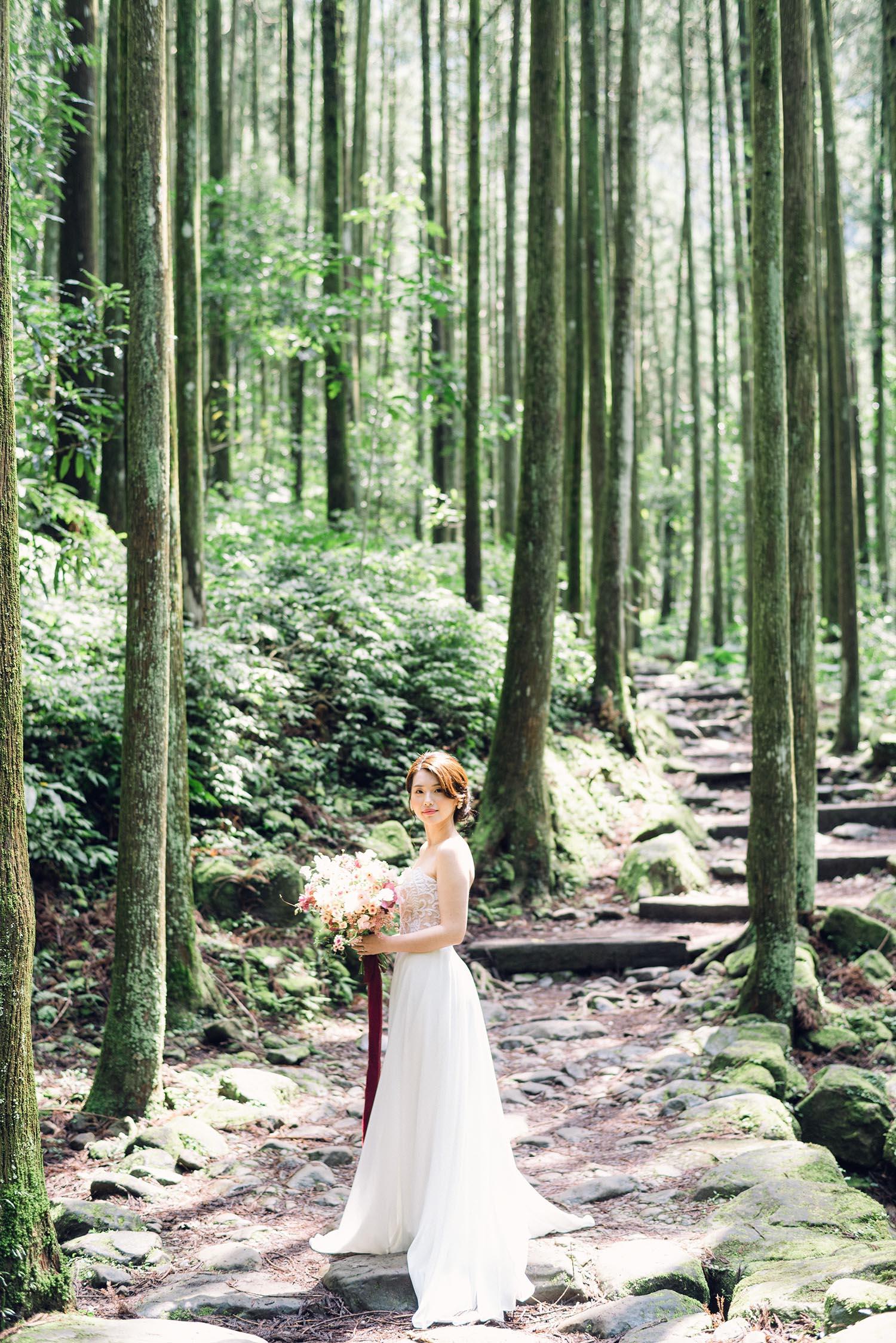 旅遊婚紗 森林-