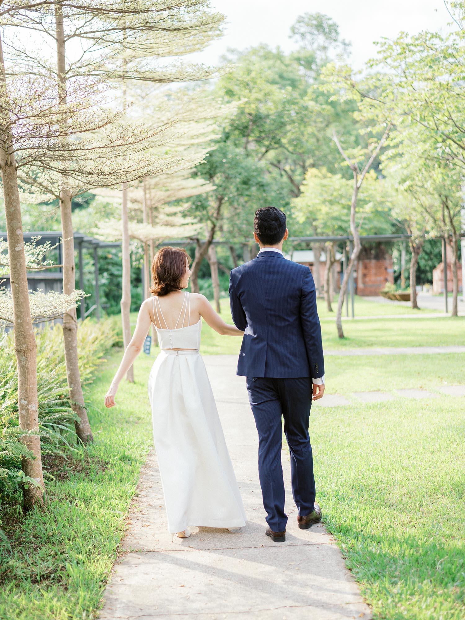底片婚紗-大溪老茶廠 婚紗-美式婚紗-唯諾法式