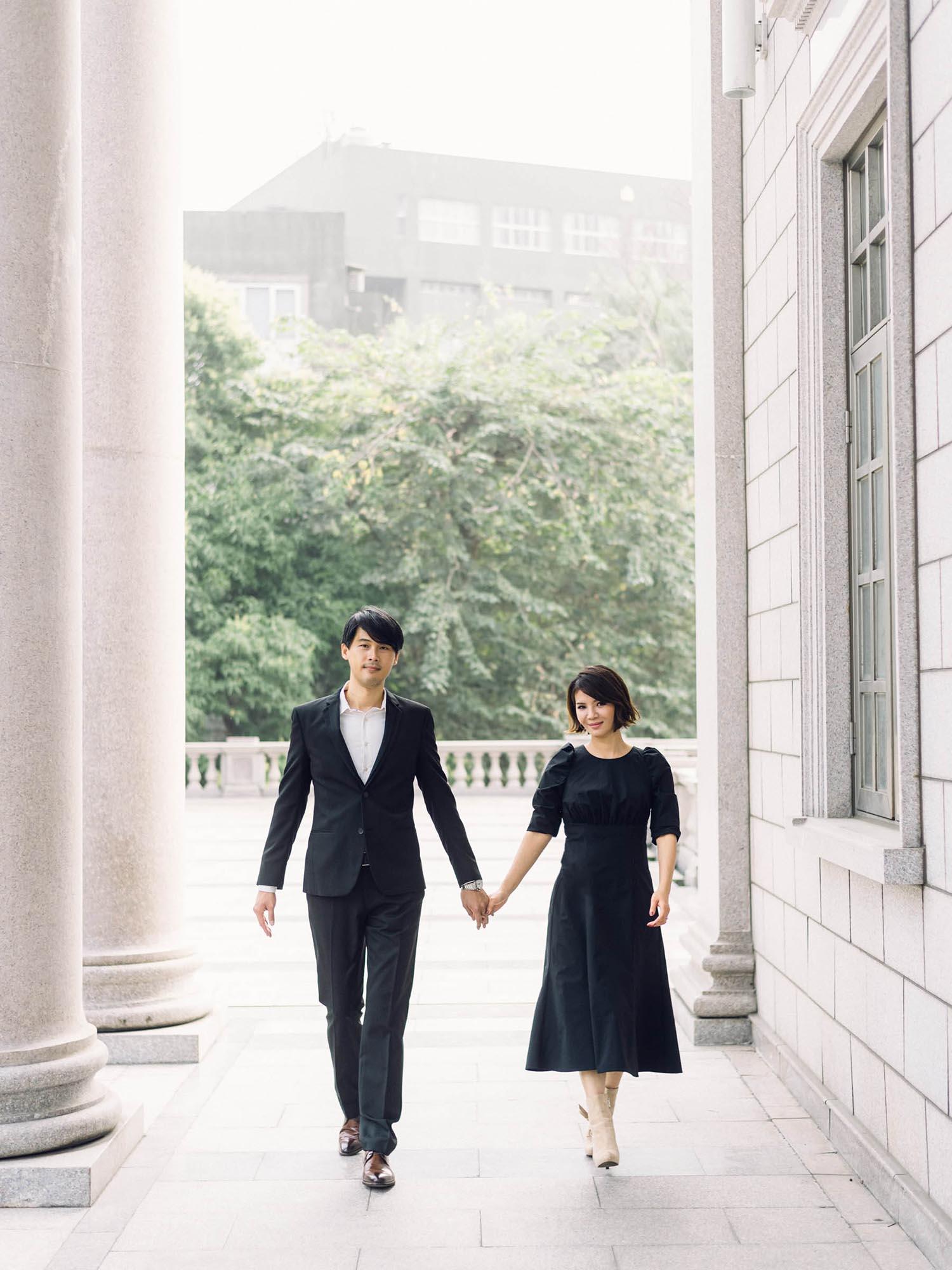 週年紀念婚紗-城市風格-吉兒梁婚禮-大同大學