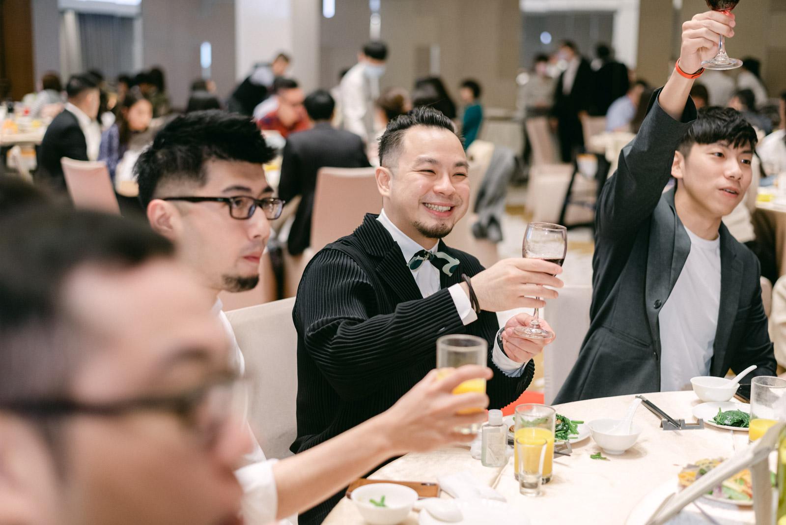 大溪 Westin-戶外婚禮-證婚-底片攝影-mark-hong-唯諾法式禮服婚紗-