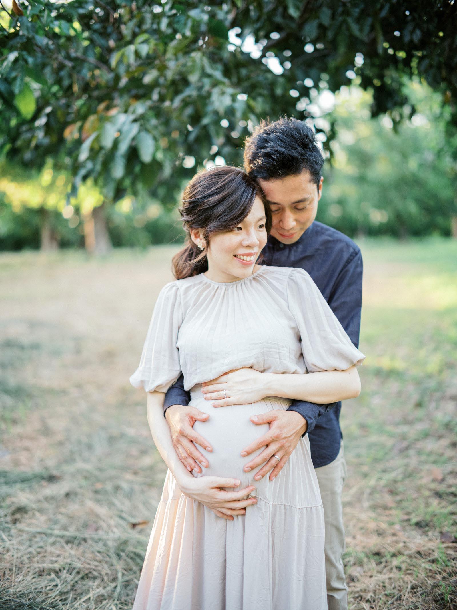 美式-孕期寫真-孕婦寫真-mark-hong-台南-戶外-逆光-GFX-中片幅-Contax 645-底片